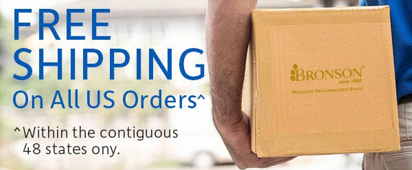 Free Shipping in Contiguous US - No Minimum