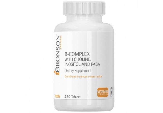 B-Complex with Choline, Inositol & Paba
