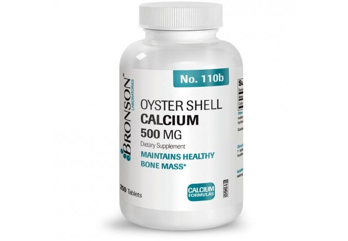Oyster Shell Calcium 500 mg