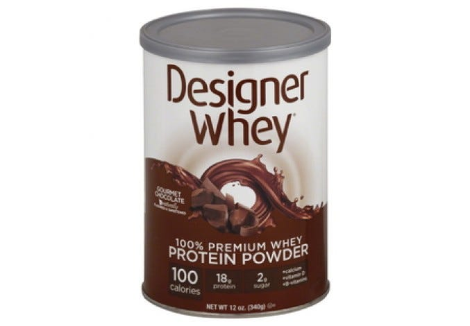 Designer Whey® Chocolate 12.7 oz.