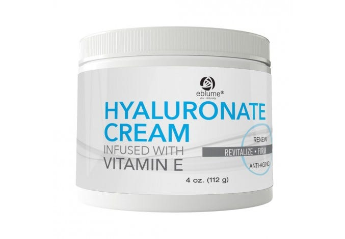 Eblume® Hyaluronic Acid Cream Infused with Vitamin E