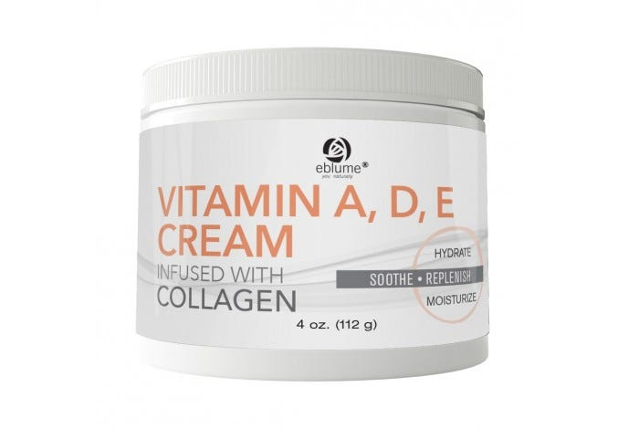Eblume® Vitamin A, D & E Cream Infused with Collagen