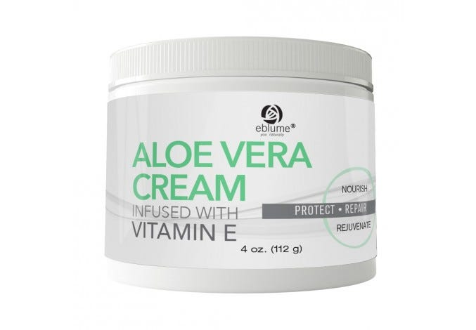 Eblume® Aloe Vera Cream with Vitamin E