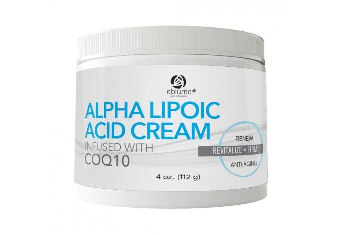 Eblume® Alpha Lipoic Acid Cream, 4oz