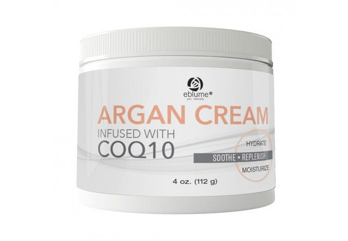 Eblume® Argan & CoQ10 Cream, 4oz