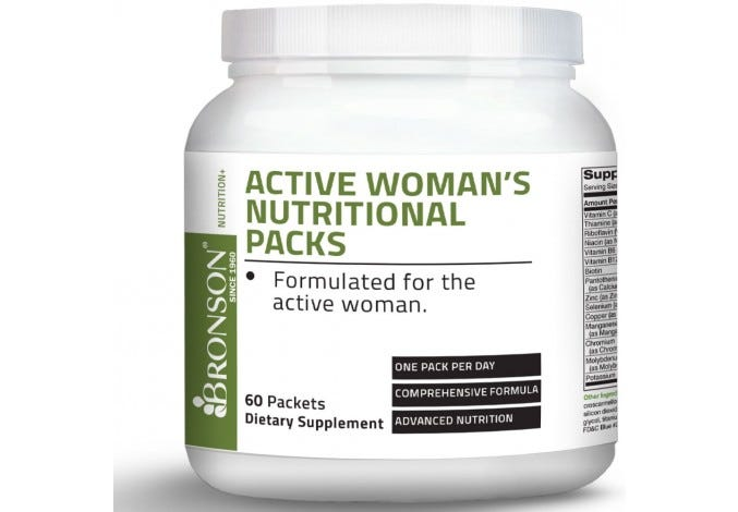 Active Woman's Nutritional Packet, 60 Packets