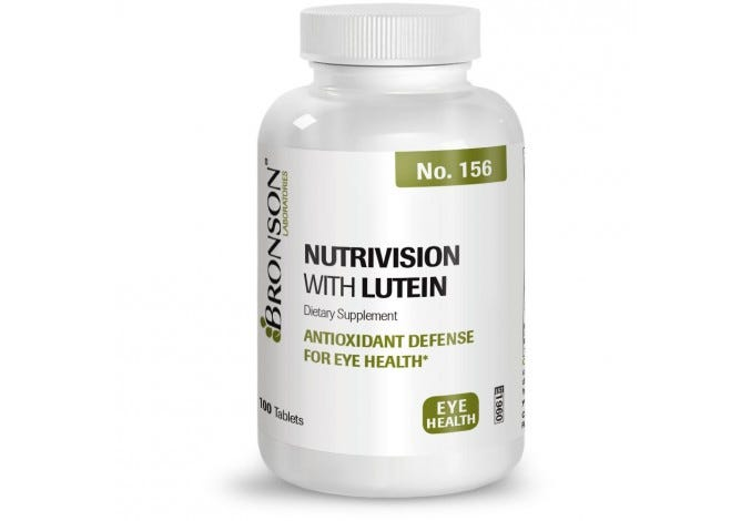 NutriVision with Lutein, 100 Tablets