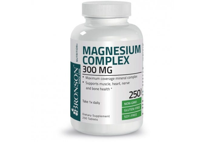 Magnesium Complex Maximum Coverage 300 mg, 250 Tablets