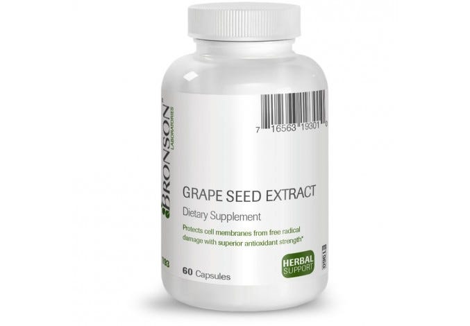Grape Seed Extract 50 mg, 60 Capsules