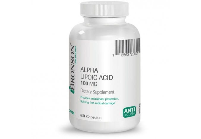 Alpha Lipoic Acid 100 mg, 60 Capsules