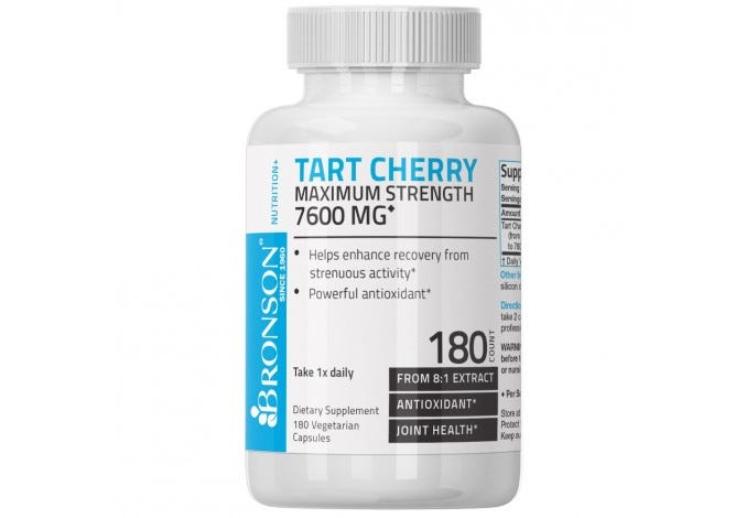 Tart Cherry 7600mg 180 Capsules