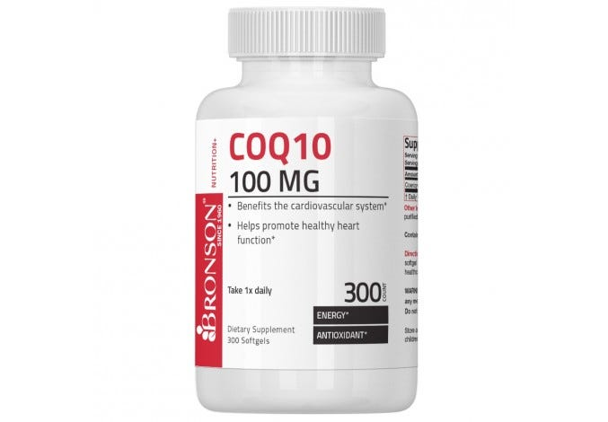 CoQ10 100 mg 300 Softgels