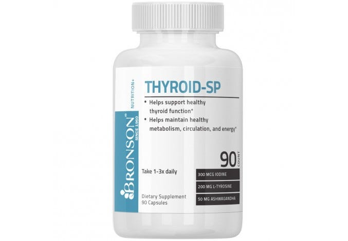 Thyroid Support Complex 90 Capsules