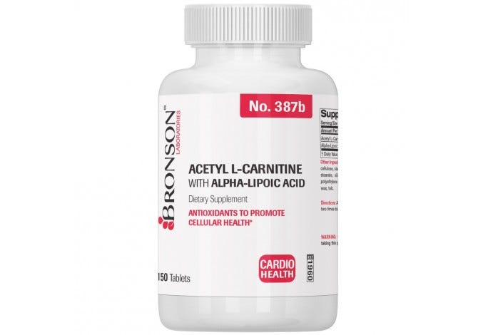 Acetyl L Carnitine with Alpha Lipoic Acid