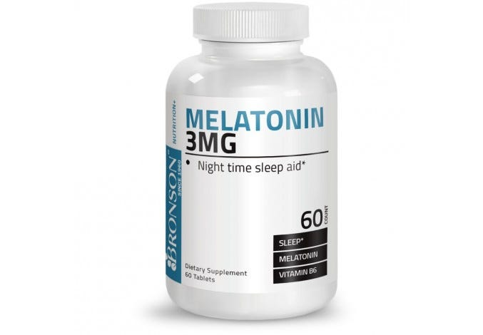 Melatonin 3 mg, 60 Tablets