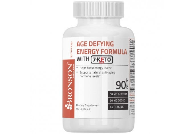 Age Defying Energy Formula with 7-Keto® DHEA