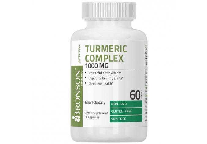 Turmeric Complex 1000 mg with Bioperine 60 Capsules