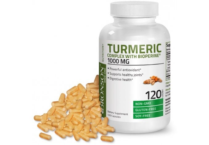 Turmeric Complex 1000 mg with Bioperine® 120 Capsules