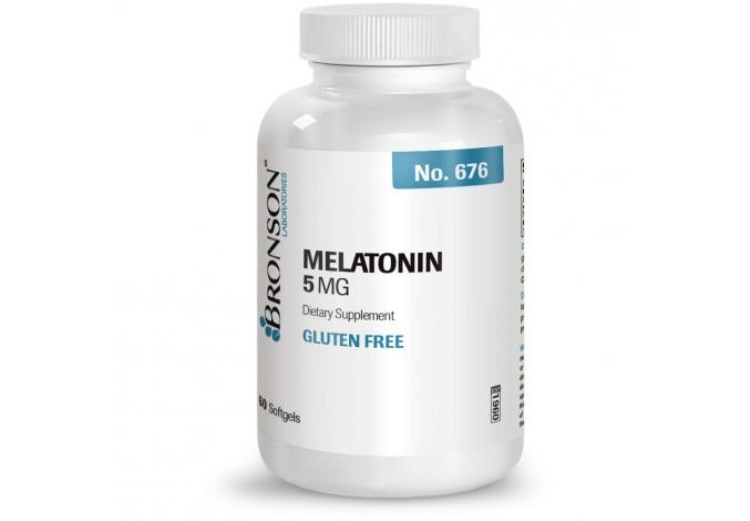 Melatonin 5 mg, 60 Softgels