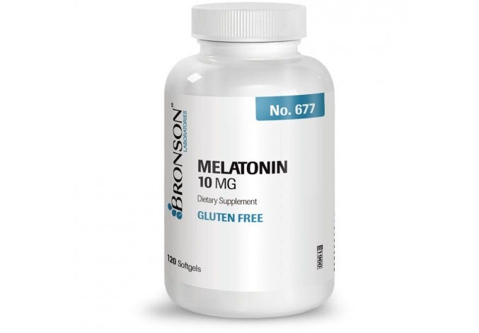 Melatonin 10 mg, 120 Softgels