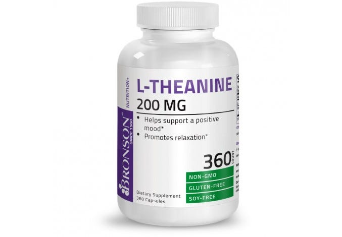 L-Theanine 200 mg 360 Capsules