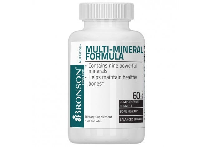 Multi-Mineral Formula, 120 Vegetarian Tablets