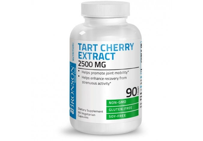 Tart Cherry Extract 2500 mg, 90 Capsules