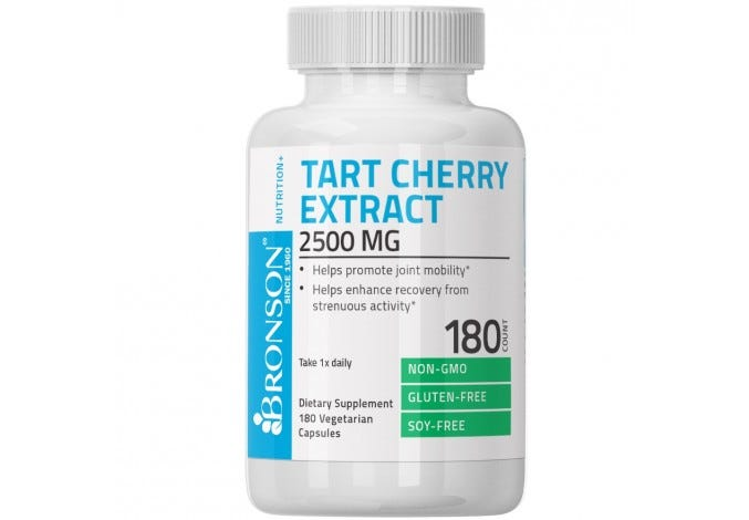 Tart Cherry Extract 2500 mg, 180 Capsules