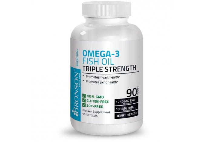 Omega 3 Fish Oil Triple Strength 2720 mg 90 Softgels