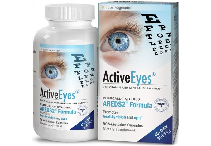ActiveEyes™ AREDS 2 Eye Vitamin & Mineral Supplement, 90 Capsules