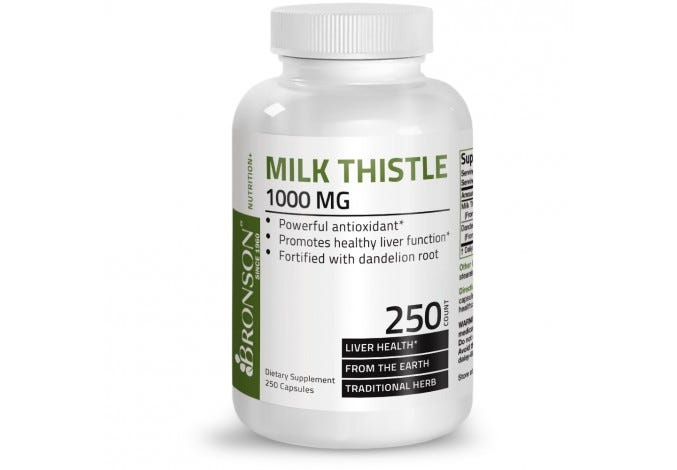 Milk Thistle 1000mg 250 Capsules