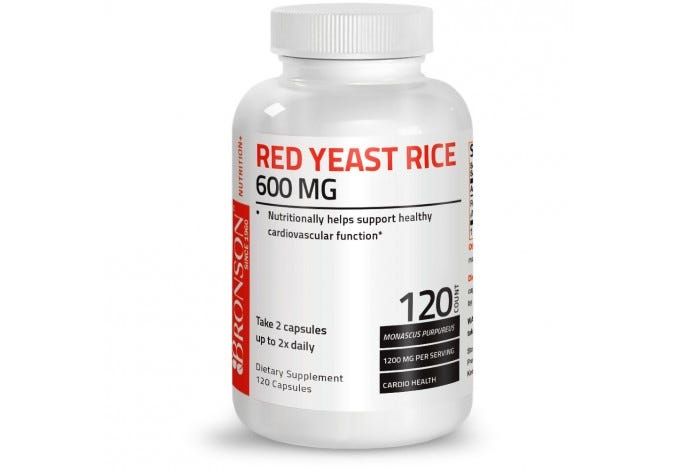 Red Yeast Rice, 120 Capsules