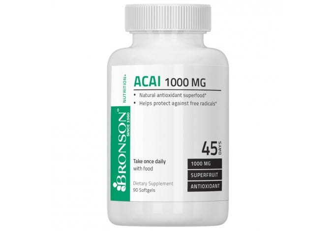 Acai 1000 mg, 90 Softgels