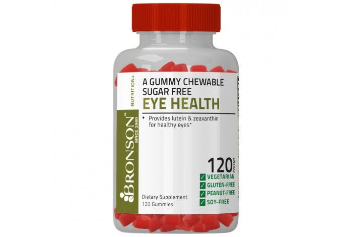 Eye Health Gummy Sugar Free 120 Count BOGO FREE