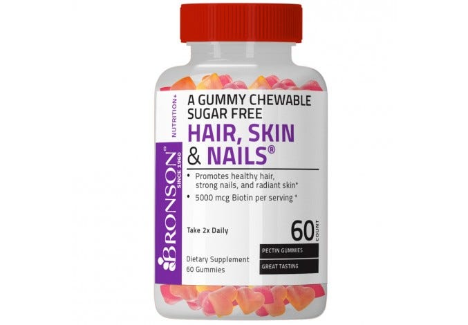 Hair, Skin & Nails Gummy Sugar Free 60 Count