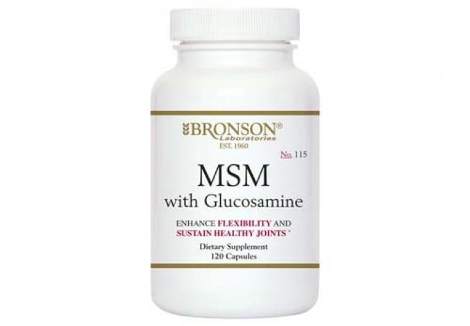 MSM with Glucosamine