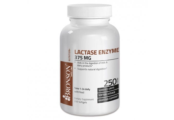 Lactase Enzyme Softgels