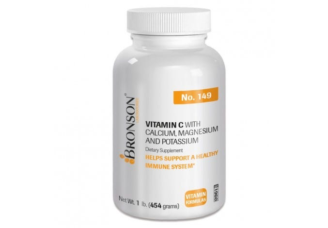 Vitamin C Powder with Calcium, Magnesium, and Potassium