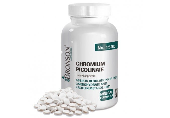 Chromium Picolinate 200mcg 250 Tablets