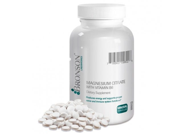 Magnesium Citrate with Vitamin B-6