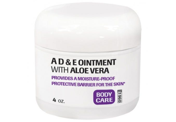 A, D & E Ointment with Aloe Vera