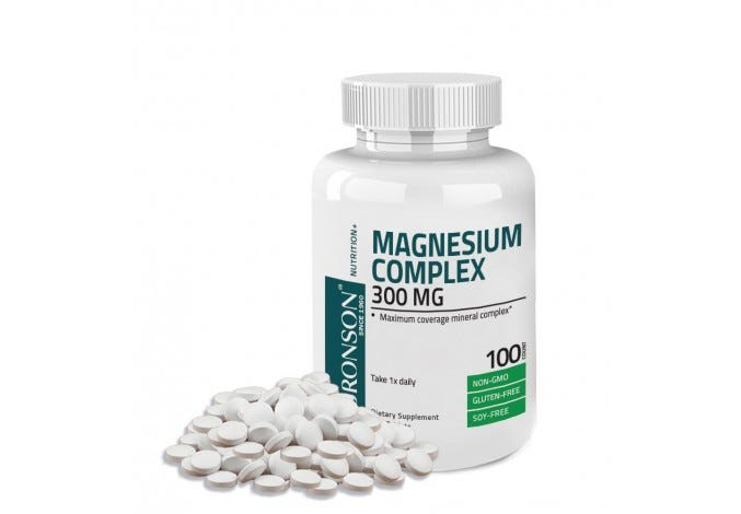 Magnesium Complex Maximum Coverage 300 mg, 100 Tablets