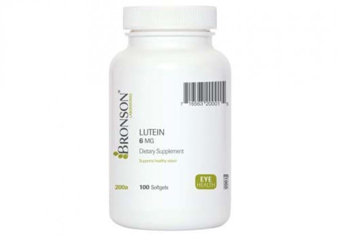 Lutein Softgels 6 mg