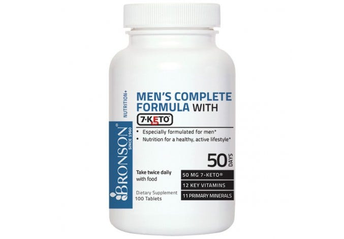 Men's Complete Formula with 7-Keto®