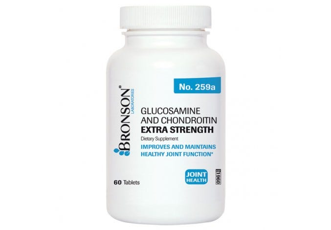 Glucosamine and Chondroitin Extra Strength 1500mg Chondroitin Sulfate 1200mg