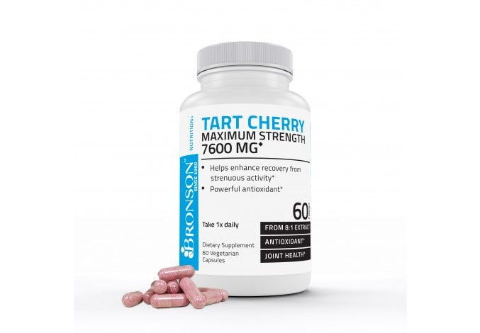Tart Cherry 7600 mg 60 Capsules