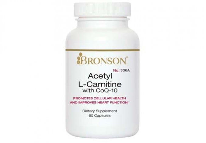 Acetyl L-Carnitine with CoQ10