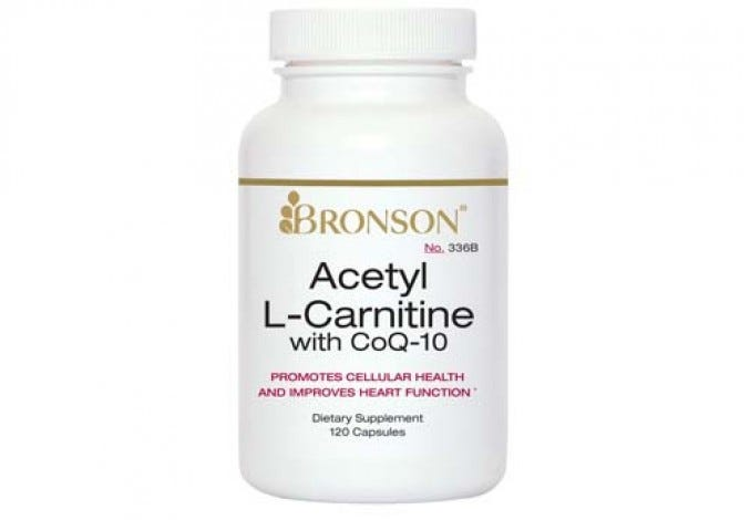 Acetyl L-Carnitine with CoQ10, 120 Capsules