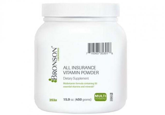 All Insurance Vitamin Powder