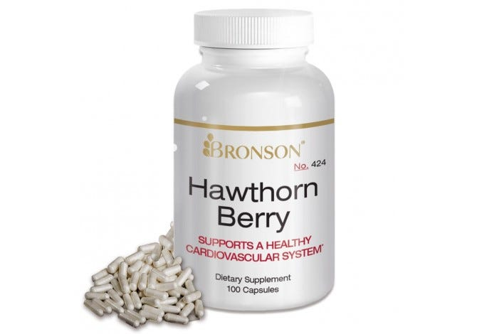 Hawthorn Berry, 100 Capsules